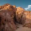 Парк Тимна (Негев): Скалы за Большой Аркой