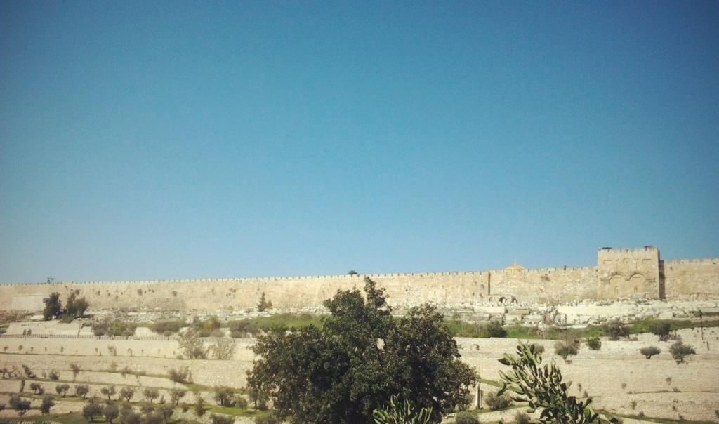 Иерусалим. Вид на старый город.