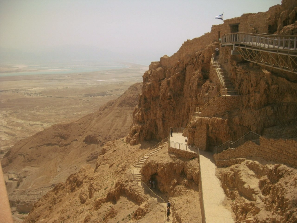 Крепость Массада.