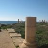 Кейсария. Восстановленные колонны храма Август.