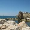 Акко. Вид на развалины крепости крестоносцев.